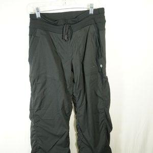 Lululemon Striped yoga pants size 8